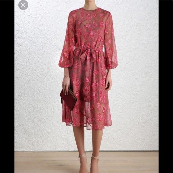 79e935d327 Zimmermann silk dress. M 5c3174aca5d7c6a3e476249f